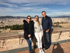 Me, my sister, & my step dad at the top of the fort